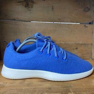 Allbirds Wool Runners Blue Sneakers
